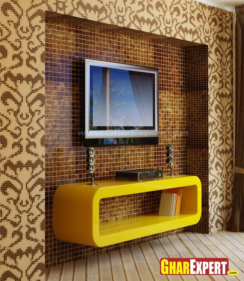 Bedroom tv wall unit designs
