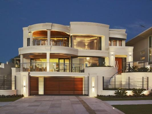 Front Elevation Designs Perth : Contemporary villas rajasthan style home exterior design