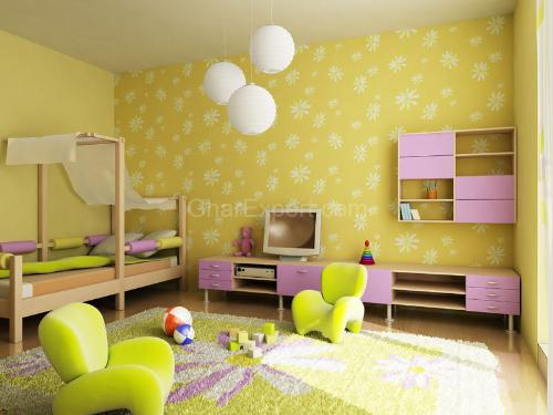 Kids Room Theme