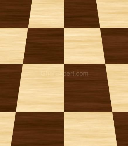 Parquet Pattern of Wooden Flooring