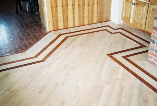Perimeter Border of Wooden Flooring