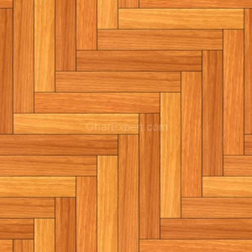 Herringbone Pattern of Wood Flooring