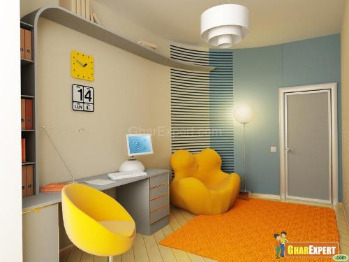Boys room interior