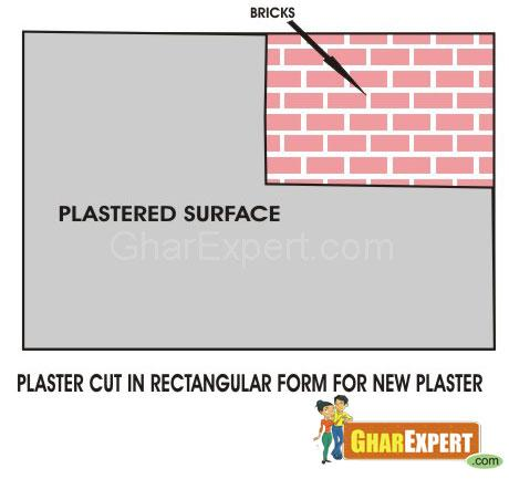 Prepare surface for Crack Repair
