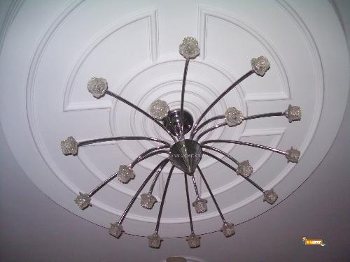 Circular ceiling design