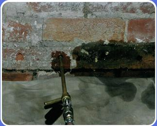 Apply DPC for damp proofing