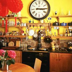 colourful country kitchen
