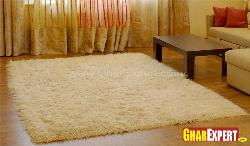 Soft Creme Color Rug