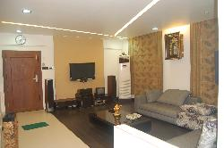 Living room furniture, ceiling, flooring, wall decor, furnishing