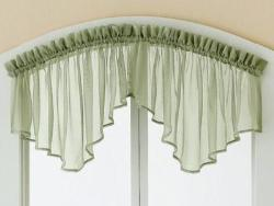 Valance Curtains for Kitchen Window
