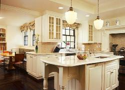 Traditional Kitchen Cabinets in White
