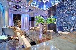 Living Room Interior in different style