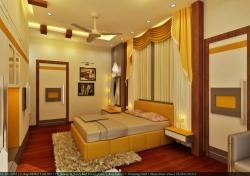 bright n lively bedroom view 1