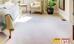 Bedroom carpet flooring