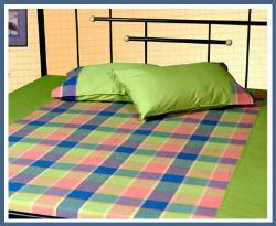 Bedsheet with check design