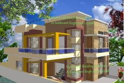 3d view 3500 sq. feet all