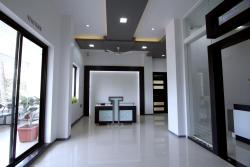 Skin care clinic-Reception area
