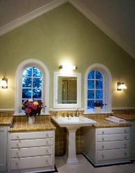 Bathroom Lighting Fixture and Bathroom sink