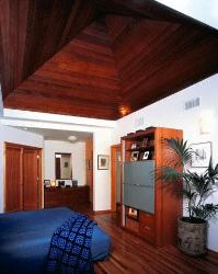 Bedroom Wooden Ceiling