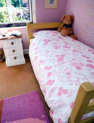Bed in Kids Room