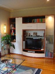 TV stand wall unit for living room