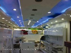 Exotic POP ceiling design with lighting
