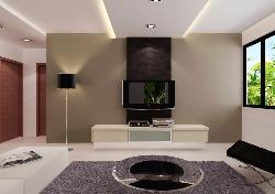 Living room wall unit design