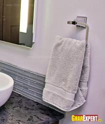 modern design towel ring for bathroom