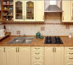 Kitchen cabinets color and design