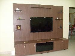 LCD wall unit design