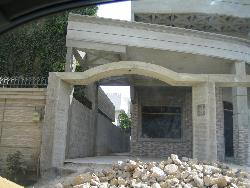 Main Gate for society raw construction