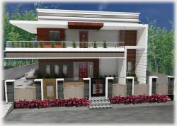 residential building designed by srusti tanuku 9848253344