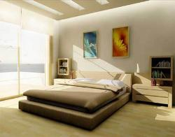 Ultra exotic modern design with simple ceiling design and simple furniture.