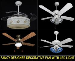 ARCHITECTS CHOICE - LED LIGHT AND ARCHITECTURE DESIGNER FAN - BLOO LED LIGHT CHENNAI