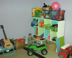 Play House in Garage