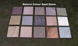 Natural sand stone colours