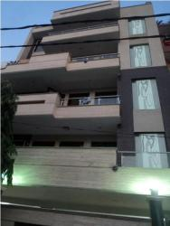 EXTERIOR FACADE FOR RESIDENCE AT RAJ NAGAR, DELHI FOR MR. NANAK