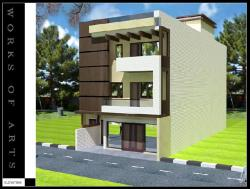 PROPOSED RESIDENCE FOR MR. JAIN,AT SHALIMAR BAGH BN BLOCK,DELHI