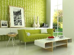 Simply Decorated Living Room