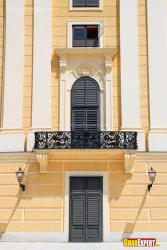 Balcony style for traditional exterior