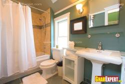 Bathroom design for 10 by 5 ft with modern fixtures