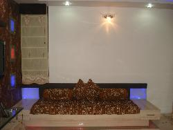 Diwan or single bed with LED lighting