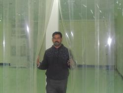 Pvc strips,pvc sheets,pvc screens for pvc strip curtains and pvc strip doors in Clear transparent in Chennai