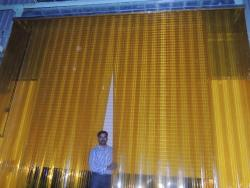 Insect amber pvc strips,Insect amber pvc strip curtains,insect amber pvc doors in Chennai suppliers in India