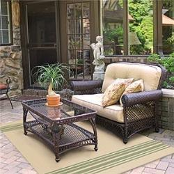 Wrought Iron Sofa and Table