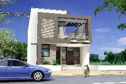 Elevation design for the house