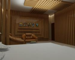 uLTRA COOL CEILING DESIGN IN WOOD FOR BEDROOM