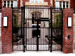 wrought iron gate design for french house