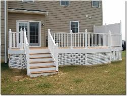 Exterior view: Low Height Functional Deck