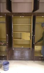 wardrobe with locker